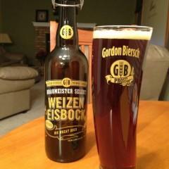 525. Gordon Biersch Brewing Co – Braumeister Selekt Weizen Eisbock