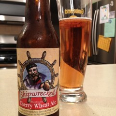 595. Shipwrecked – Door County Cherry Wheat Ale